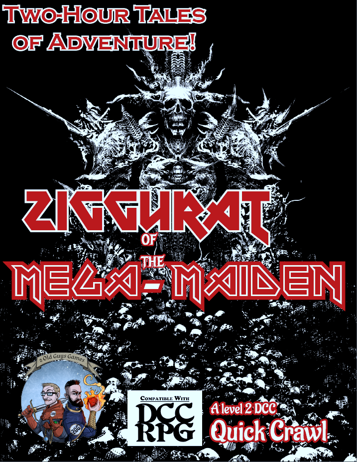 Zigguart of The Mega-Maiden Cover