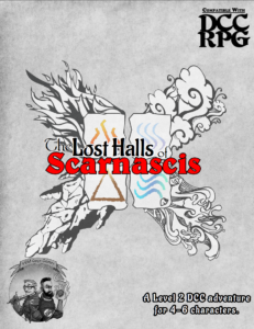 The Lost Halls of Scarnascis for DCC Cover